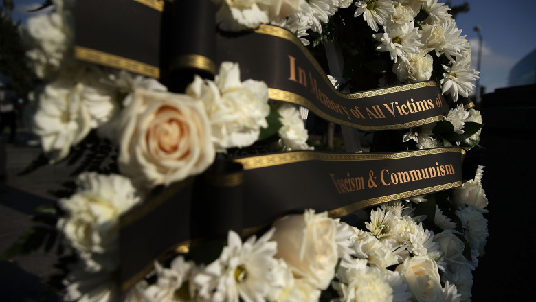 The Victims Of Communism Memorial Foundation Mark The 78th Anniversary Of The 1939 Molotov-Ribbentrop Pact