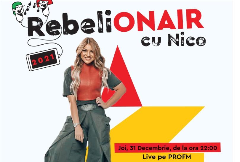 RebeliON AIR la PROFM, cu Nico Creciunesc