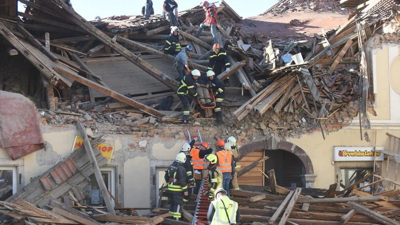 cutremur croatia 29 decembrie 2020