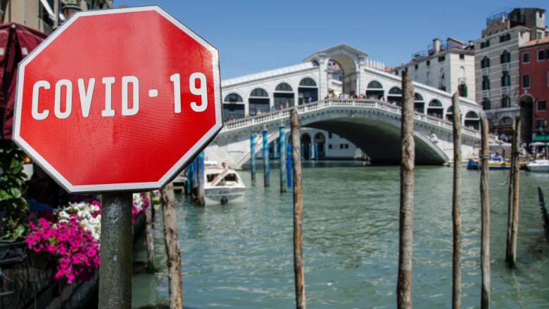 Turismul din Italia a avut grav de suferit din cauza pandemiei