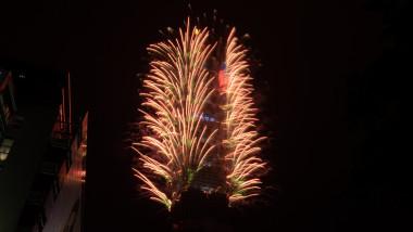 ceremonii anul nou 2021 in taipei