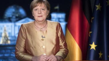 Angela Merkel ultimul mesaj de anul nou in calitate de cancelar