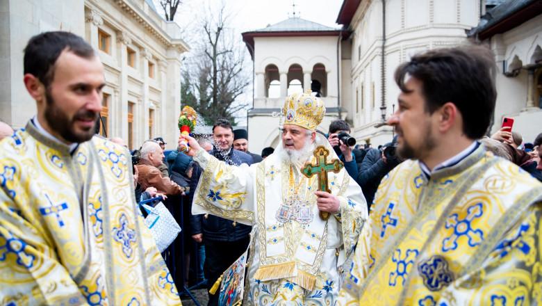 Patriarhul Daniel a oficiat slujba religioasă de Bobotează.