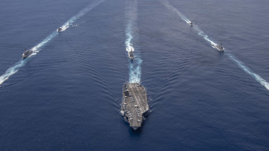 Nimitz Carrier Strike Group joins Indian Navy for cooperative deployment