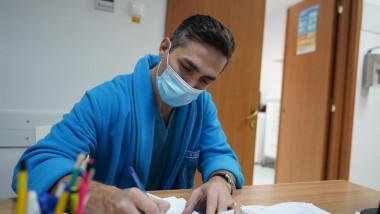 Medicul Valeriu Gheorghiță, coordonatorul campaniei naționale de vaccinare împotriva COVID-19