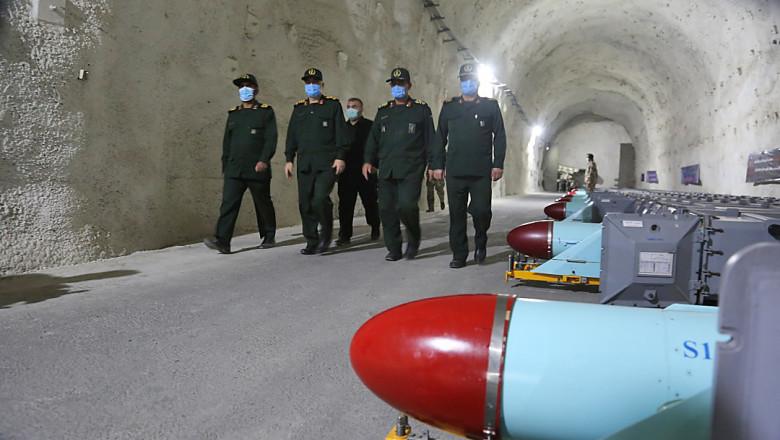 bază subterană de rachete strategice ale Gardienilor Revoluției din Iran