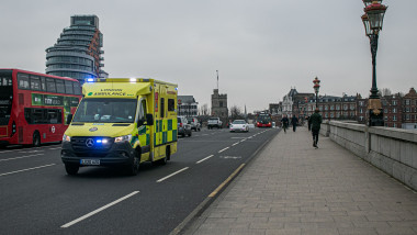 National Health Service under strain from covid infections, Putney, London, UK - 08 Jan 2021