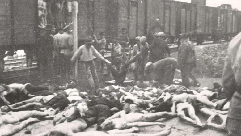 trenul mortii pogromul de la iasi foto pogromuldelaiasi ro