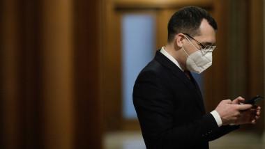Ministrul Sănătății, Vlad Voiculescu.