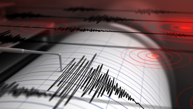 Seismograph and earthquake
