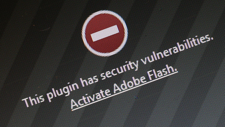 plugin Adobe Flash Player, mesaj eroare