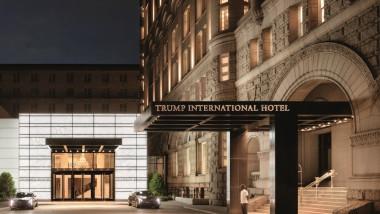 hotel trump DC site oficial