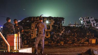 Medical Evacuation Plane Crashes At Manila Airport