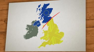 Efecte Brexit: Scoţia şi Irlanda de Nord ar putea părăsi Marea Britanie pentru a adera la UE