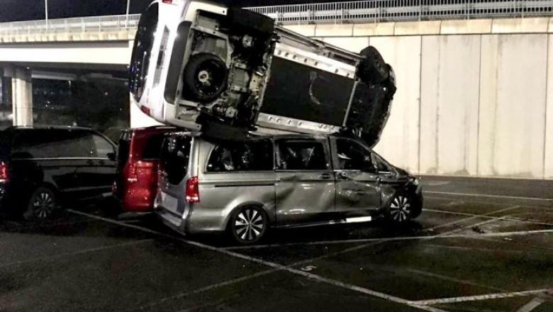 masini mercedes distruse