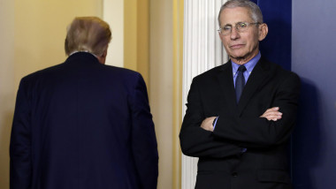 Donald Trump şi Anthony Fauci