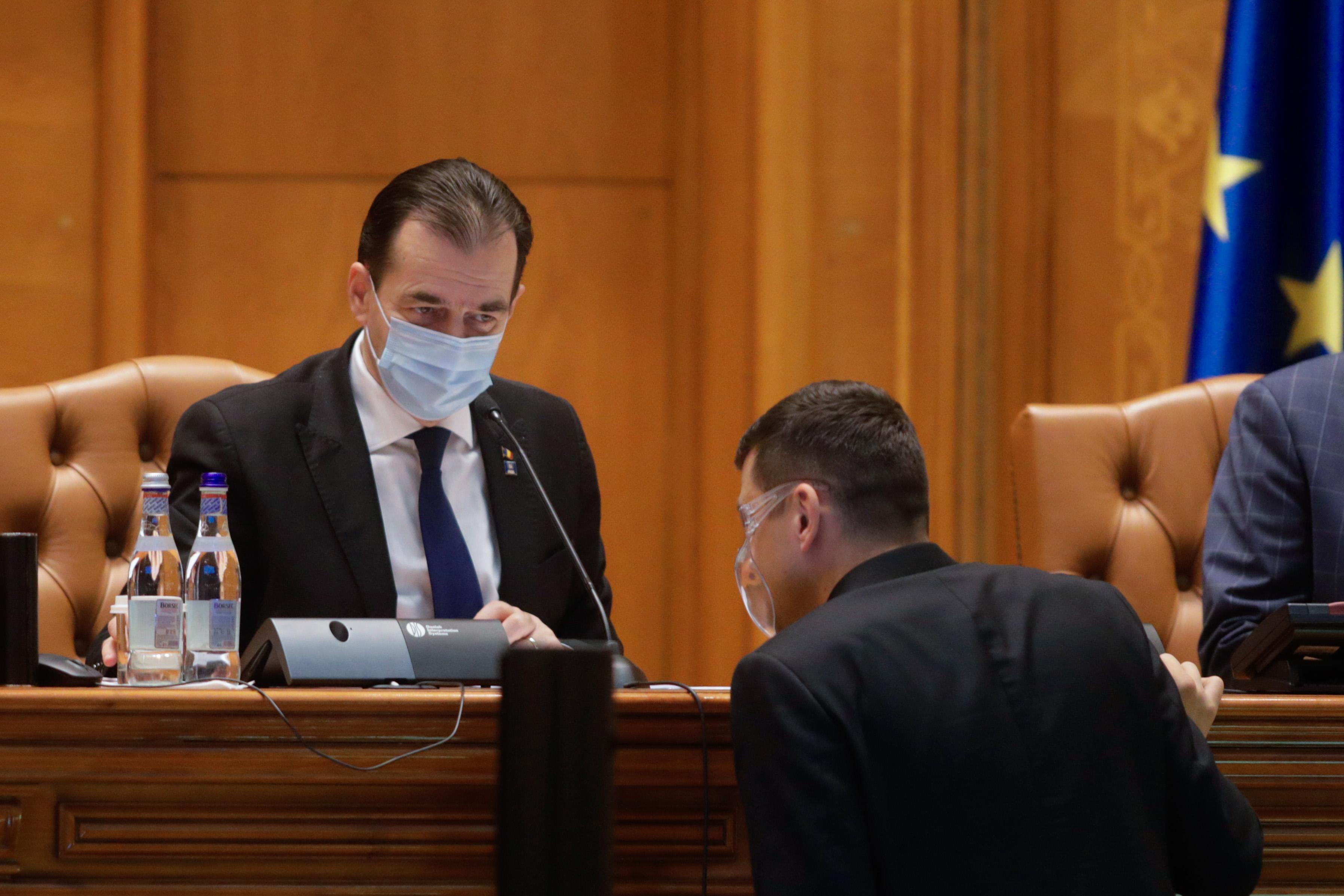 CCR a respins sesizarea AUR privind alegerea lui Ludovic Orban la șefia Camerei Deputaților