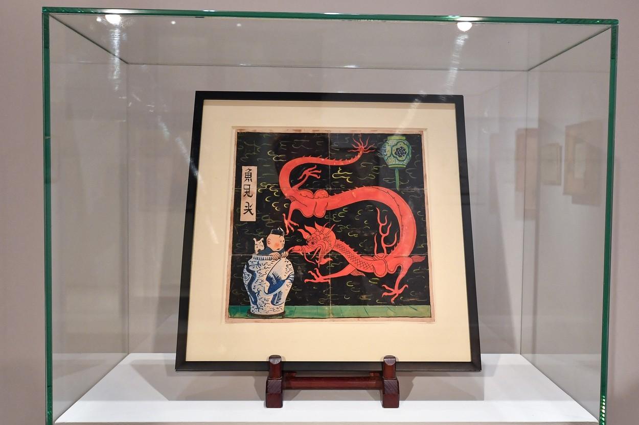 Record mondial. Un desen cu Tintin s-a vandut cu 3,2 milioane  de euro