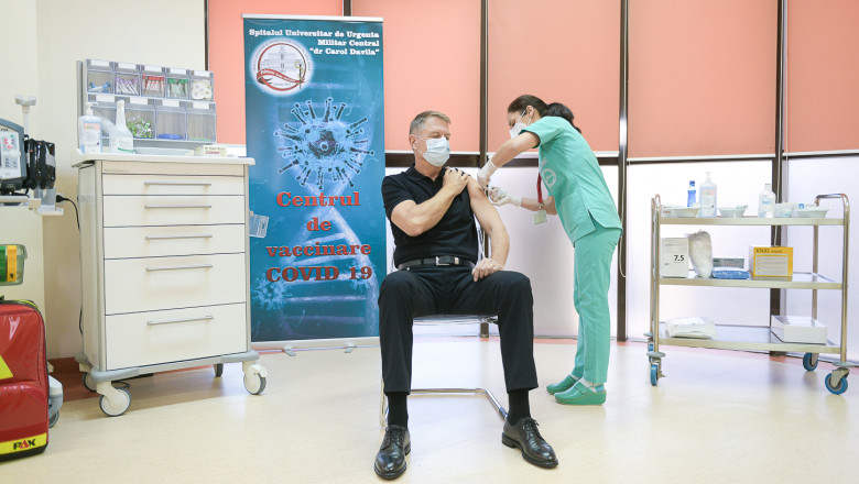 klaus iohannis vaccinat5 presidency