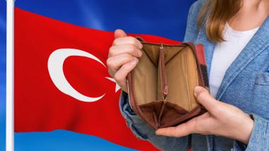 Alimentele au devenit atât de scumpe în Turcia încât oamenii au ajuns să apeleze la toate economiile pe care le făcuseră.