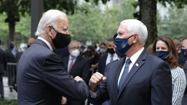 Mike Pence și Joe Biden