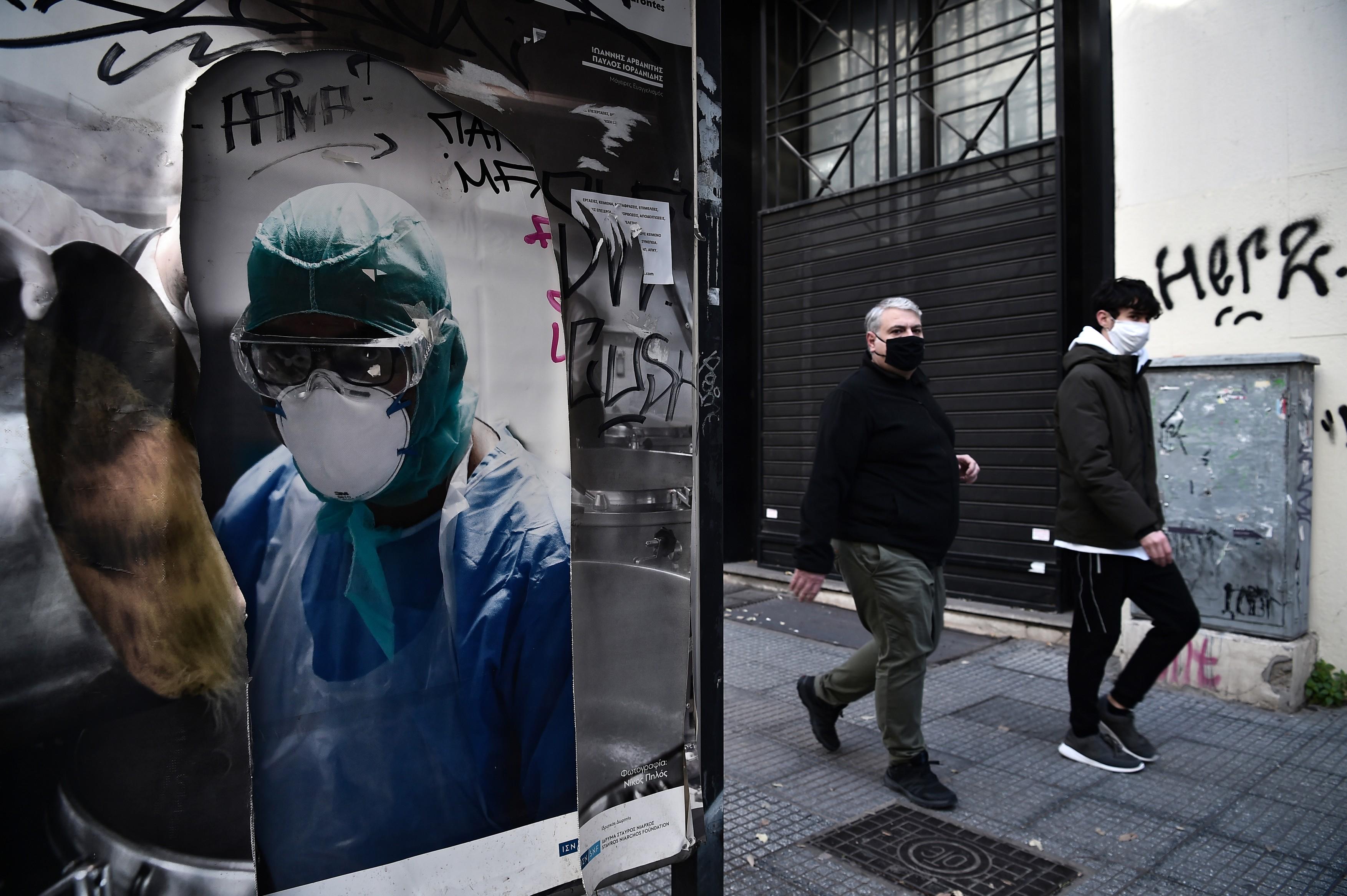 Grecia relaxează din restricțiile împotriva răspândirii Covid. Bisericile și unele magazine se vor putea redeschide