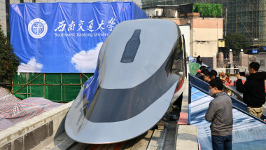 Chinese Super Bullet Maglev Train Will Travel At 620kmh