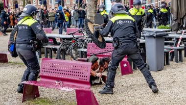 proteste antiguvernamentale olanda