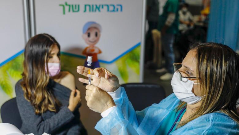 israel vaccinare