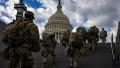 militari din Garda Națională a SUA asigură paza Washingtonului și a Capitoliului SUA