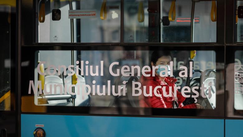 autobuz stb in trafic