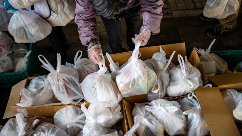 Pachete pentru săracii din Japonia