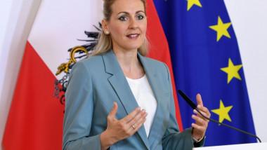Christine Aschbacher - ministru austria - profimedia-0508011515