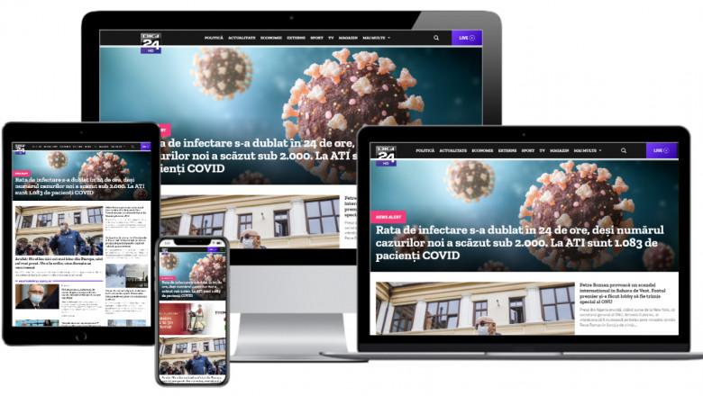 platforma online Digi24
