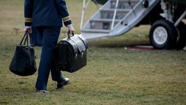 valiza nucleară a preşedintelui SUA în care sunt ţinute codurile nucleare