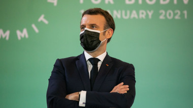 Președintelefrancez Emmanuel Macron