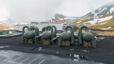 Centrala geotermala de la Hellisheidi islanda