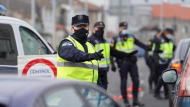 Filtru al poliției locale în Madrid