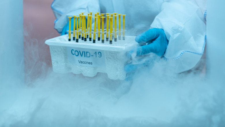 S-a stricat frigiderul cu vaccinuri anti-Covid de la un spital din Cluj