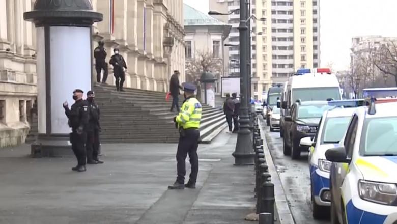 Amenințare cu bombă la Curtea de Apel București.