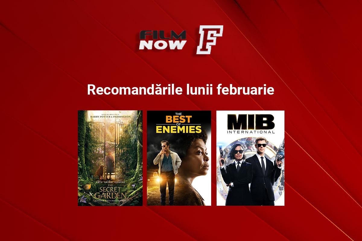 De la ecranizari ale romanelor celebre si pana la aventuri SF, Film Now prezinta filme noi pentru toate gusturile in luna februarie