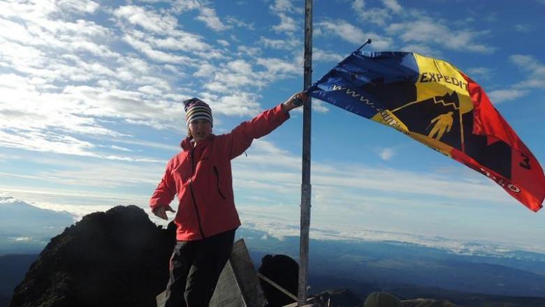 Alpinista Dor Geta Popescu