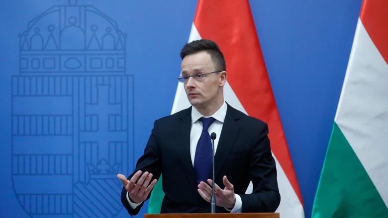 Peter Szijjarto, ministrul ungar de Externe - gettyimages
