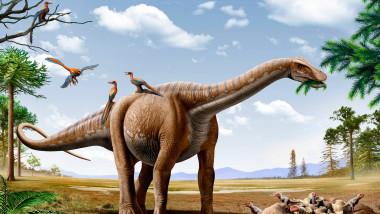 Dinozaur din specia Argentinosaurus