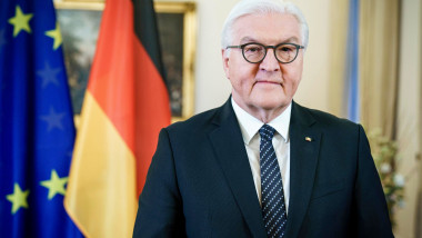 German President Frank-Walter Steinmeiervideo message regarding Joe Biden's upcoming inauguration, Berlin, Germany - 19 Jan 2021