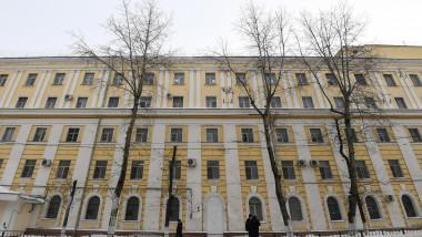 închisoarea Tăcerea Marinarului de lângă Moscova, unde a fost închis Alexei Navalnîi