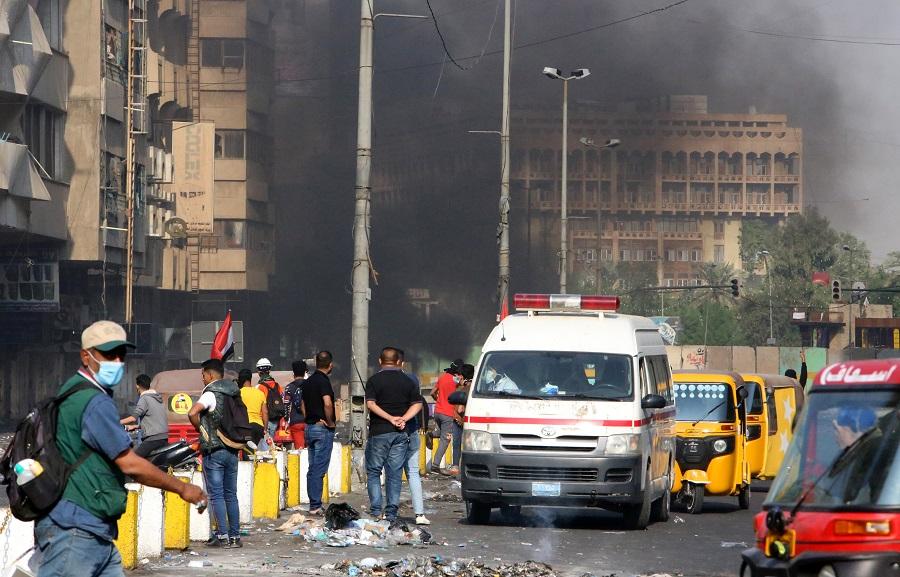 Gruparea teroristă Stat Islamic revendică atacurile sinucigașe care au avut loc la Bagdad. Bilanțul a ajuns la 32 de morți