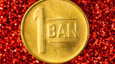 monedă de 1 ban