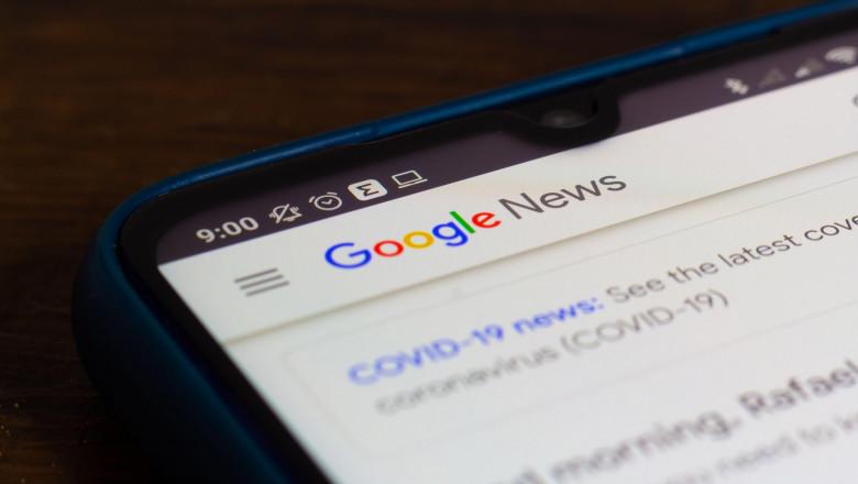 Google News, programul de ştiri operat de Google