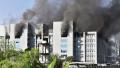 incendiu institut vaccinuri india
